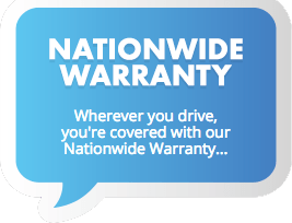 Nation-wide transmission warranty