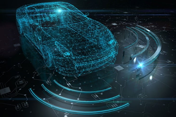 Robotic Looking Vehicle - Transmission technology increases over time