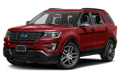 Red Ford Explorer SUV - Ford SUV Transmission Repair Experts