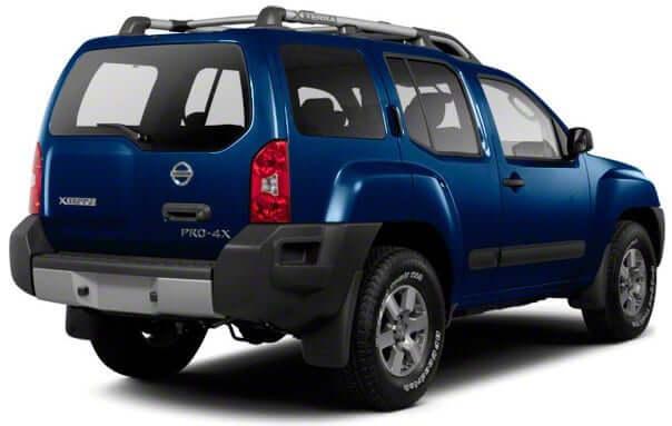 Blue Nissan Xtera