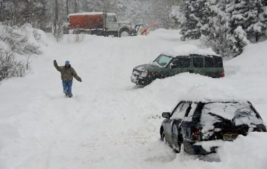 transmission failure in snow